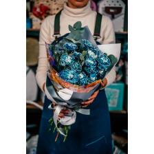 """Букет  цветов """"Мальвина"""""""