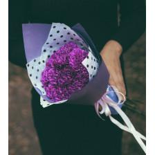 """Букет цветов  """" Черничный пломбир"""""""
