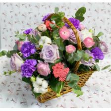 """Корзина с цветами """" Каталина """""""